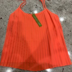 Gianni Bini Tops - NWT.Emma blouse. Neon sunset. Dry clean only